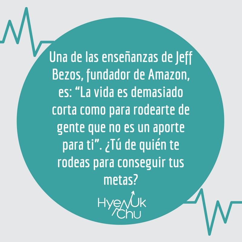 Enseñanza de Jeff Bezos, fundador de Amazon.