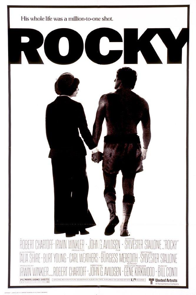 Rocky, película dirigida por John G. Avildsen.