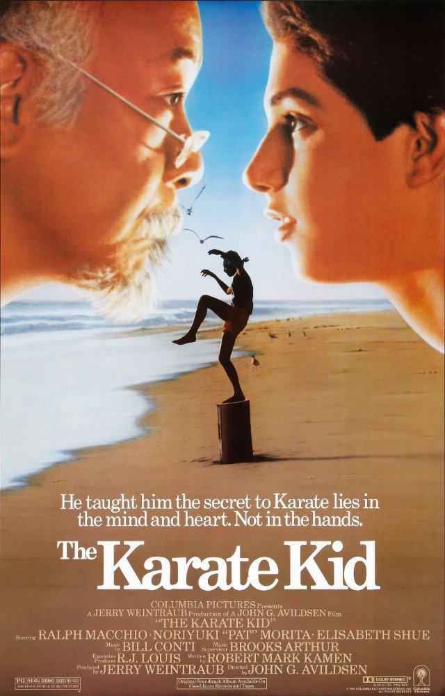 Karate Kid, película de John G. Avildsen.