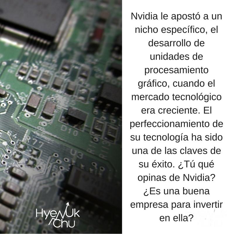 Nvidia juega un importante papel en el sector tecnológico.