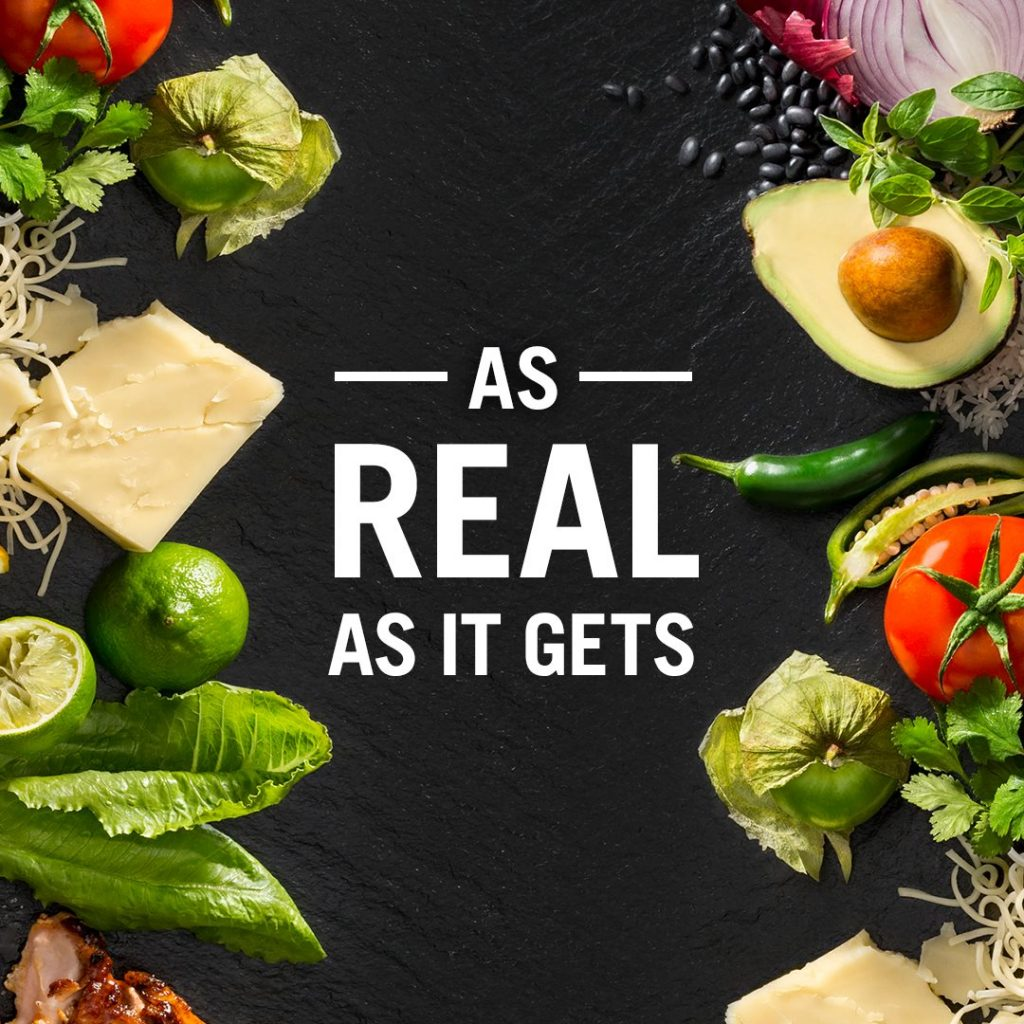Chipotle le apuesta a los ingredientes naturales.