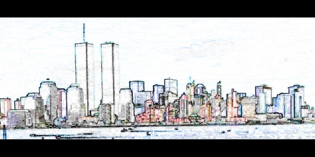 Philippe Petit realizó su hazaña en las Torres Gemelas de Nueva York
