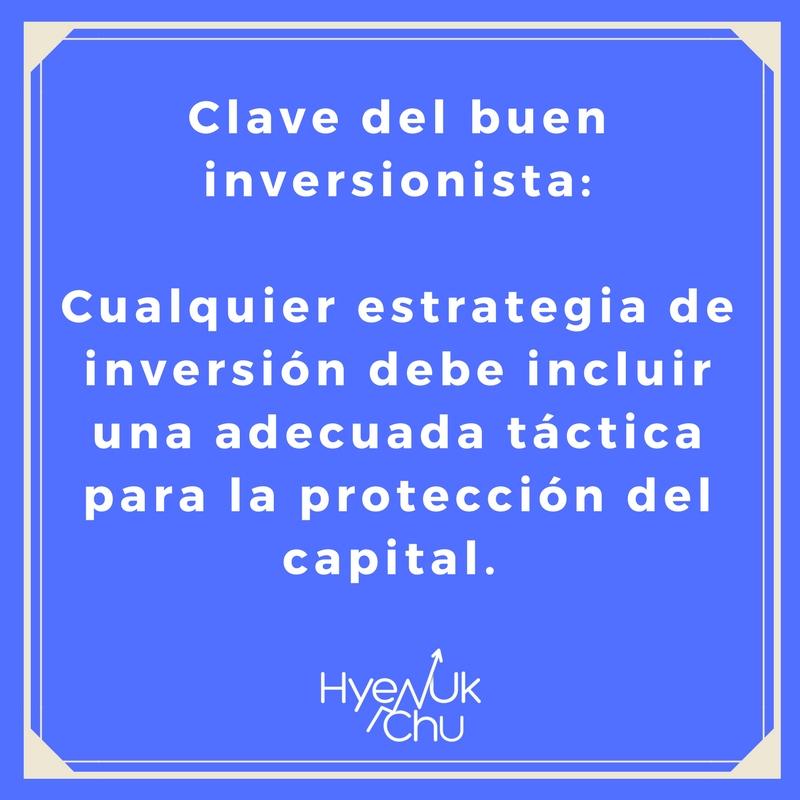 Los inversionistas exitosos saben protegerse.