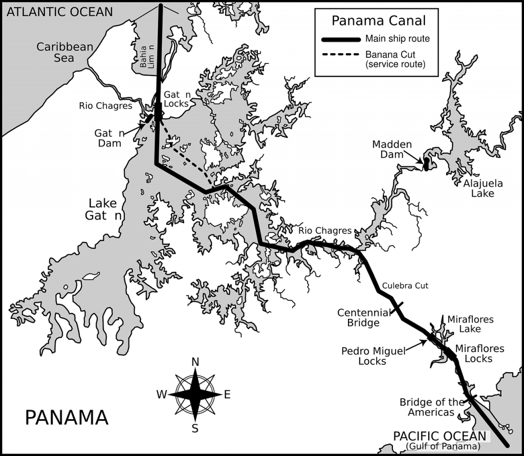 El Canal de Panamá tardó siglos en concretarse.