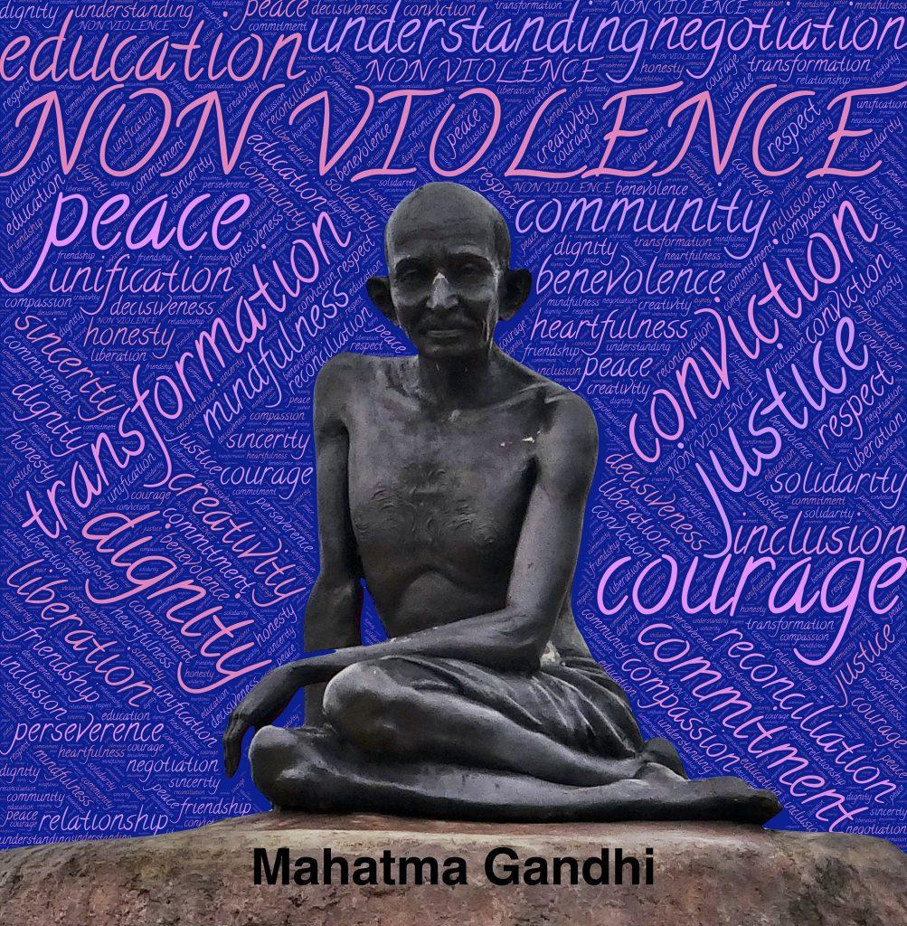 Las enseñanzas de Gandhi siguen vigentes.