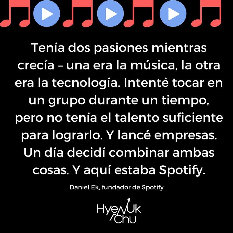 Spotify: tecnología y música en una plataforma.