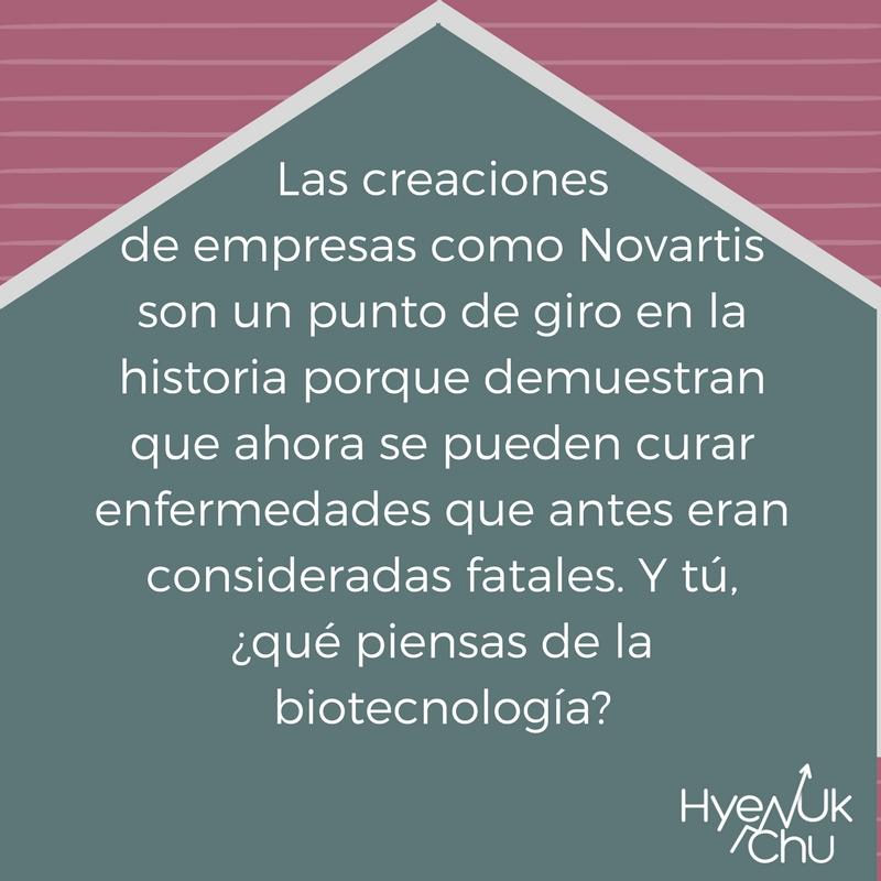 ¿Qué opinas del sector de biotecnología?