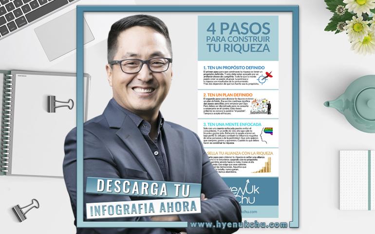 4 Pasos Para Construir Tu Riqueza - Hyenuk Chu