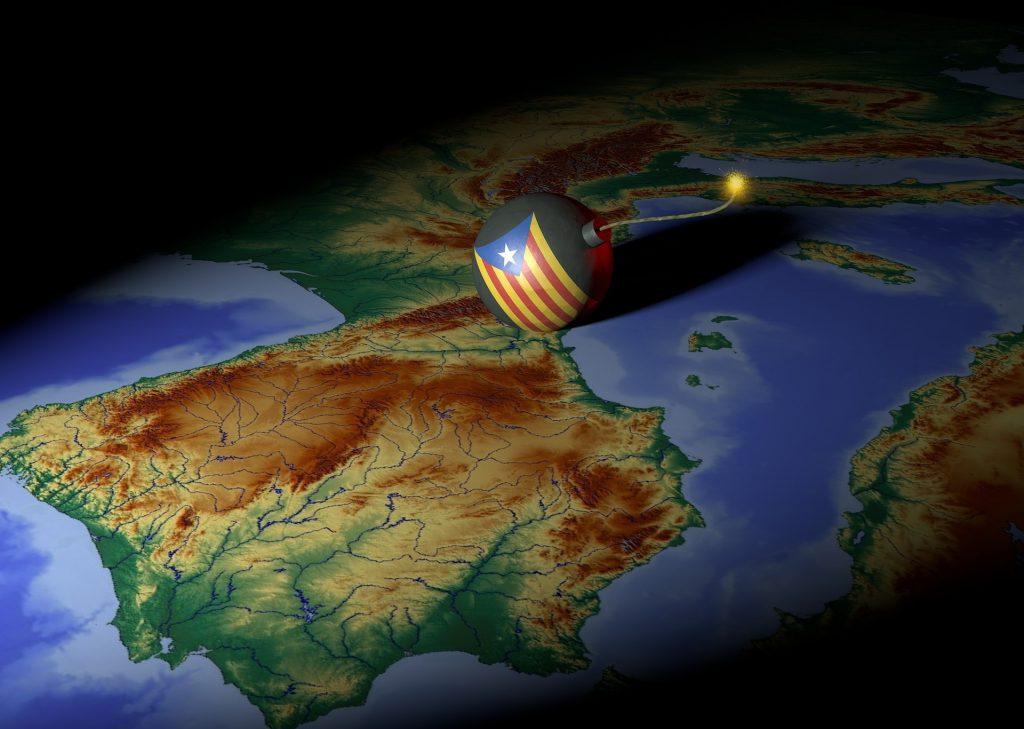 Independencia de Cataluña afectó acciones de los bancos.