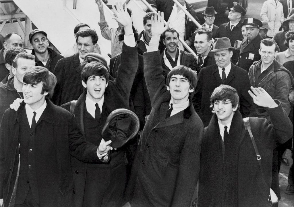 Lennon y The Beatles.