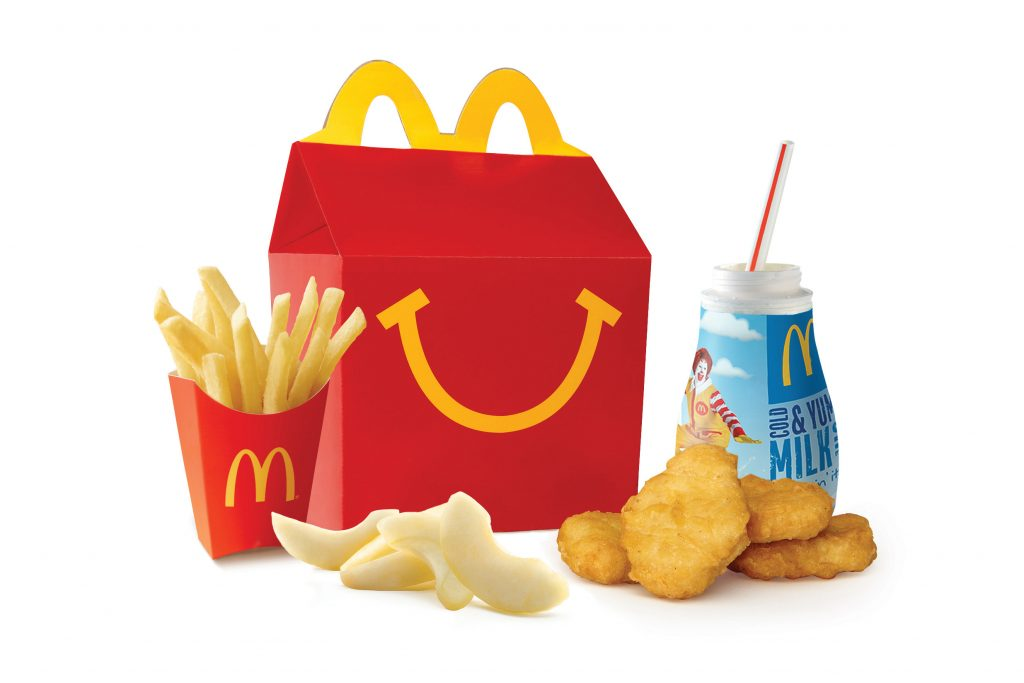 New Happy Meal de McDonald´s.