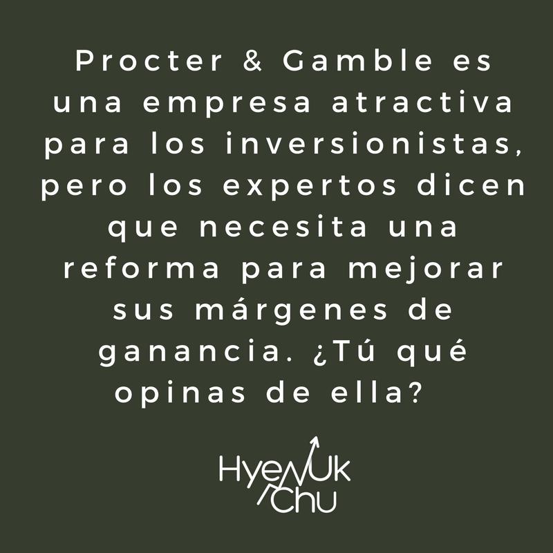 Procter And Gamble y los inversionistas.