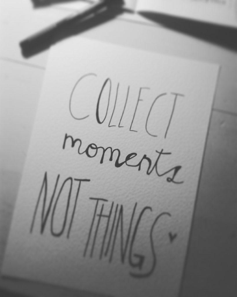 Estar presente es vivir el momento.