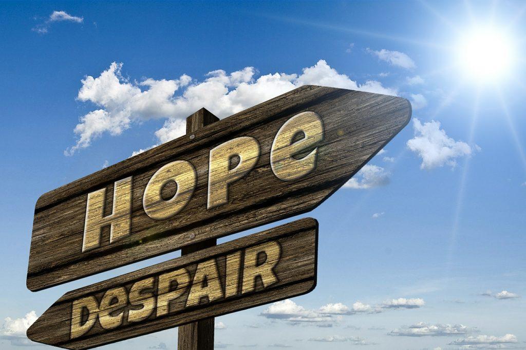 No se puede perder la esperanza.