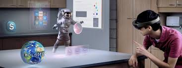HoloLens, inteligencia artificial de Microsoft.