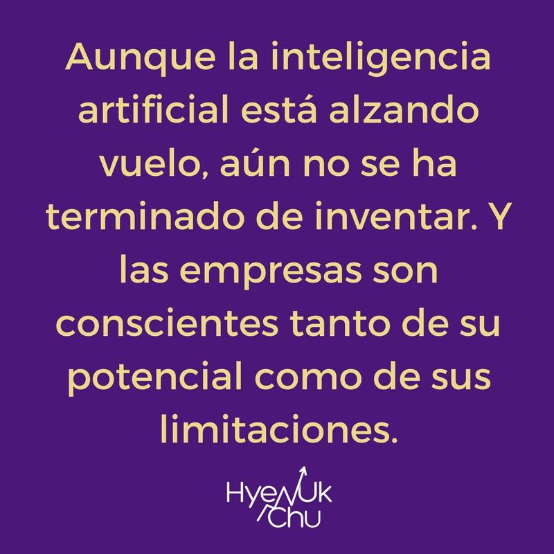 Inteligencia artificial es un mundo por descubrir.