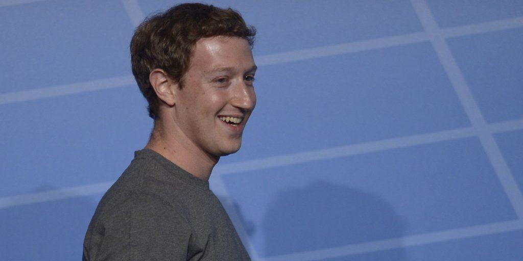 El fundador de Facebook, uno de los billonarios.