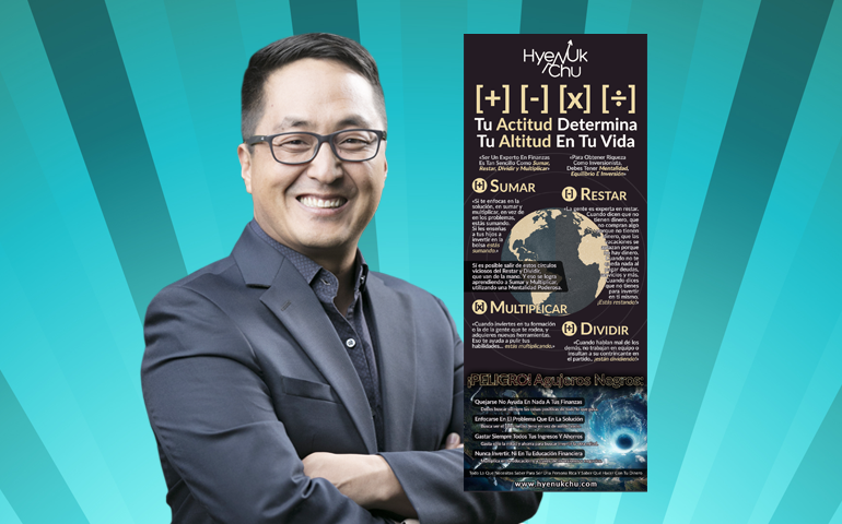 [+] [-] [x] [÷] Tu Actitud Determina Tu Altitud En Tu Vida [INFOGRAFÍA] – Hyenuk Chu