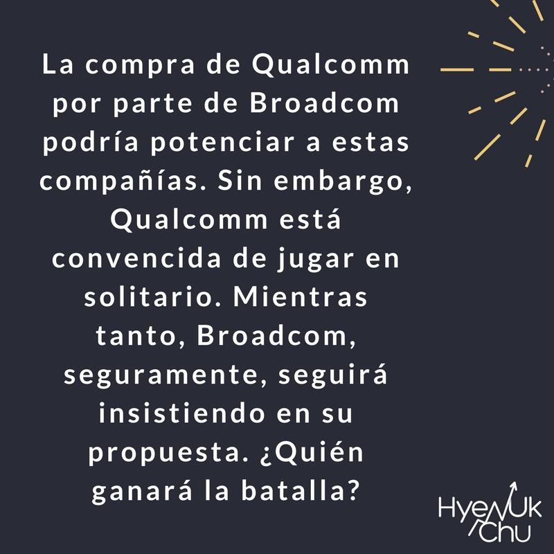 Broadcom y Qualcomm seguirán dando de qué hablar.