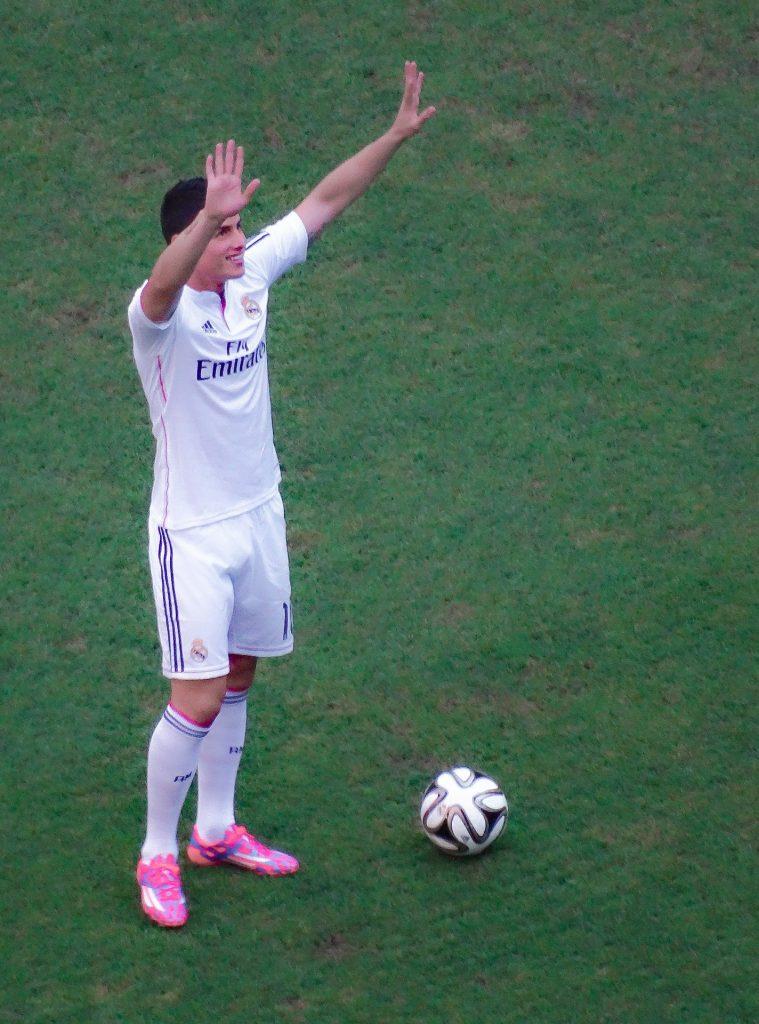 James Rodríguez es ejemplo de motivación.