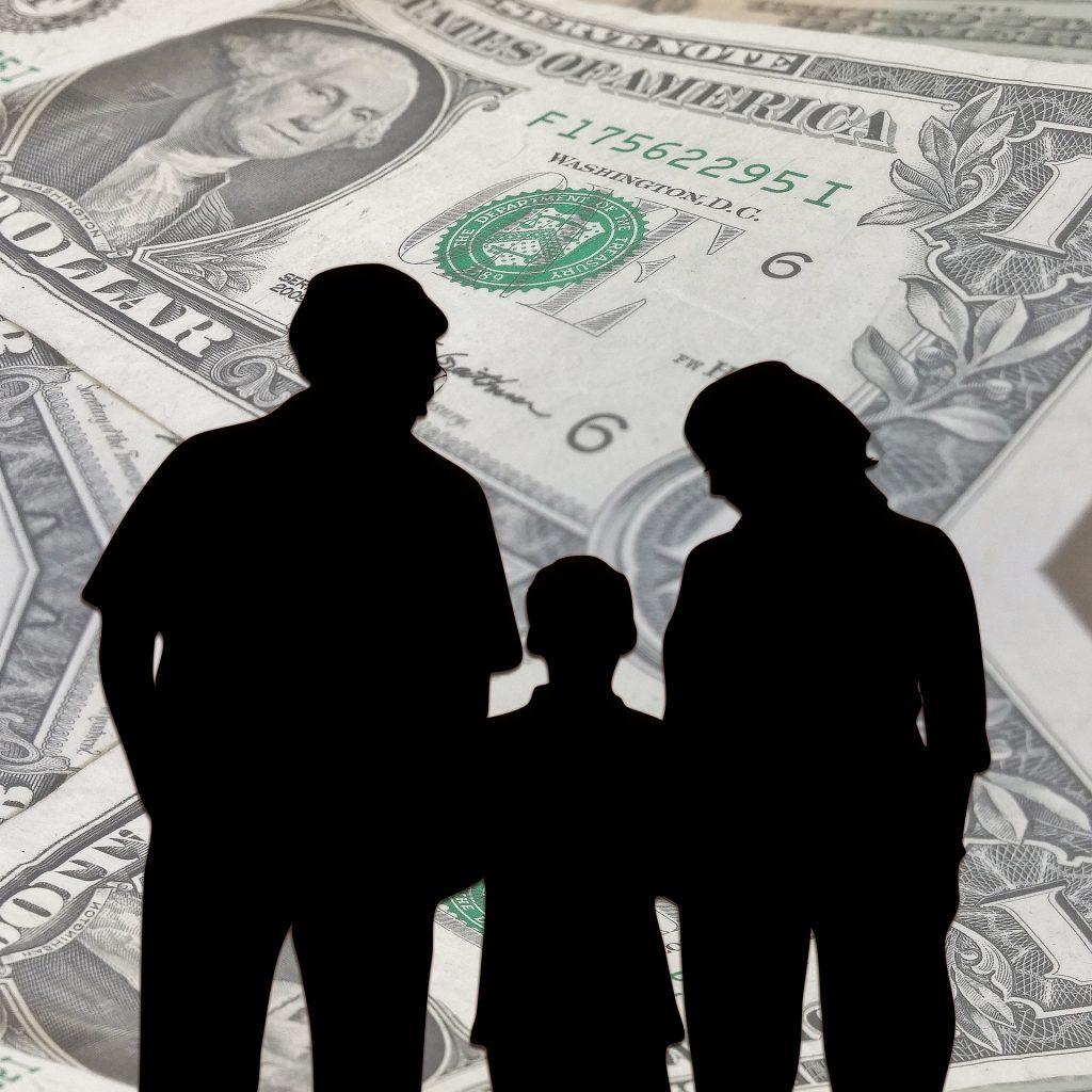 Finanzas para niños en familia.