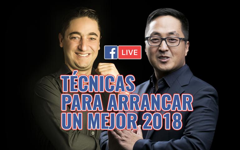 [Fb Live] Técnicas Para Arrancar Un Mejor 2018 – Hyenuk Chu