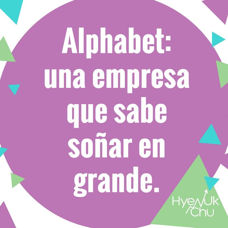La mayor enseñanza de Alphabet.
