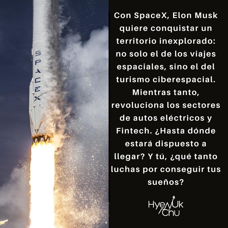 Elon Musk no renuncia a sus sueños.