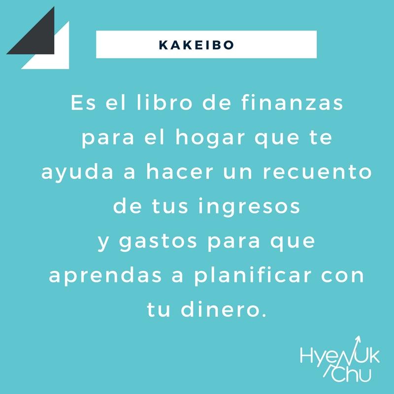 El Kakeibo es tu plan para ahorrar dinero.