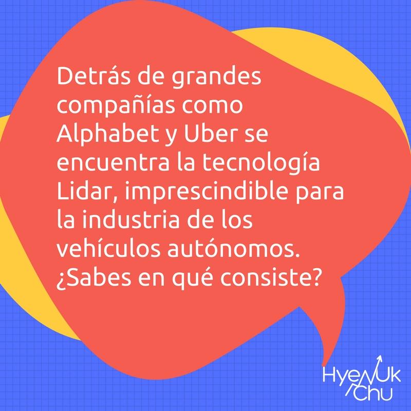 Lidar juega un rol en los negocios futuristas.