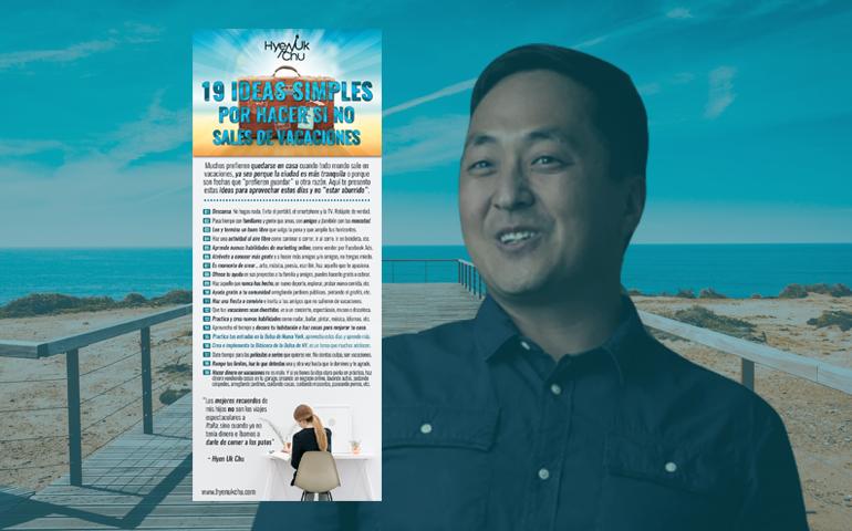[INFOGRAFÍA] 19 Ideas Simples Por Hacer Si No Sales De Vacaciones – Hyenuk Chu