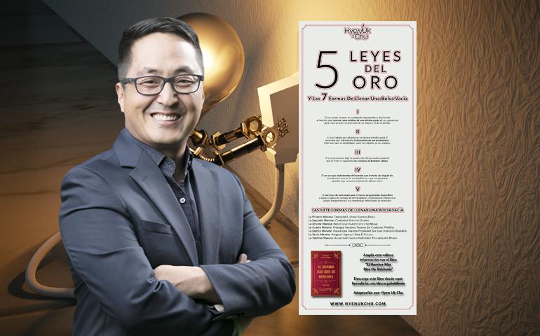 [INFOGRAFÍA] 5 Leyes Del Oro Y Las 7 Formas De Llenar Una Bolsa Vacía – Hyenuk Chu