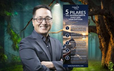 [INFOGRAFÍA] 5 Pilares Del Inversionista Para Una Vida Exitosa – Hyenuk Chu