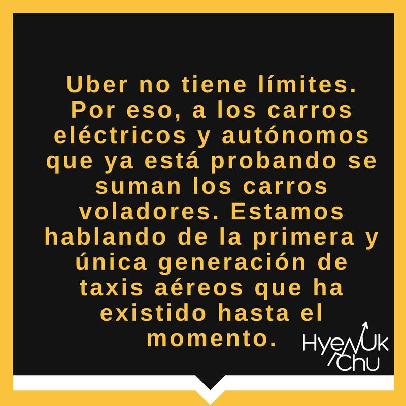 La empresa Uber revoluciona el sector transporte.