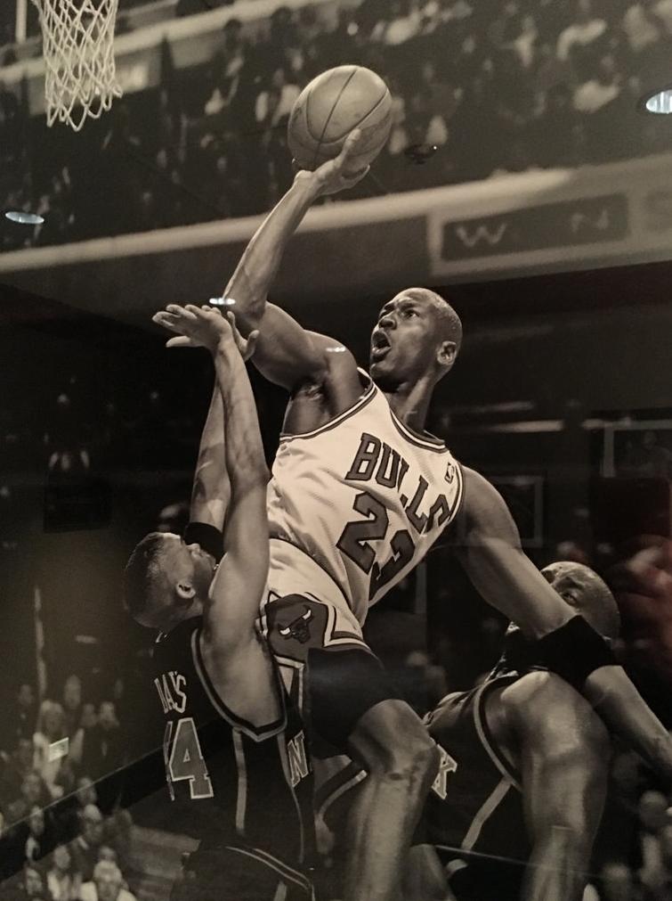 Un ejemplo a seguir es Michael Jordan.