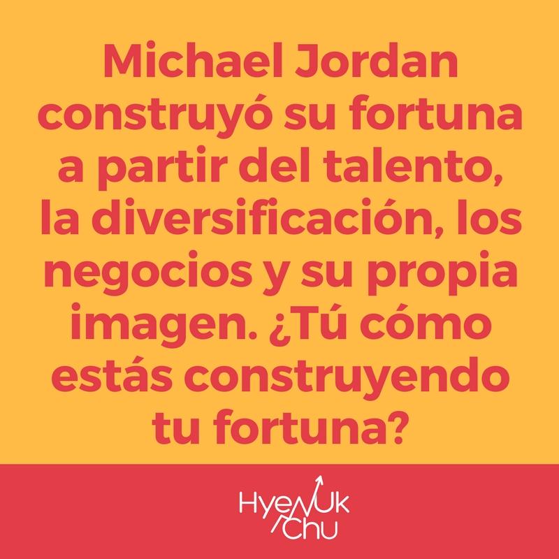 La riqueza de Michael Jordan.
