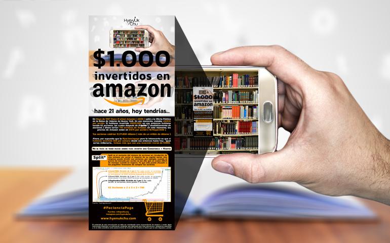 [INFOGRAFÍA] $1.000 Invertidos En Amazon Hace 21 Años Hoy Tendrías… Por Hyenuk Chu