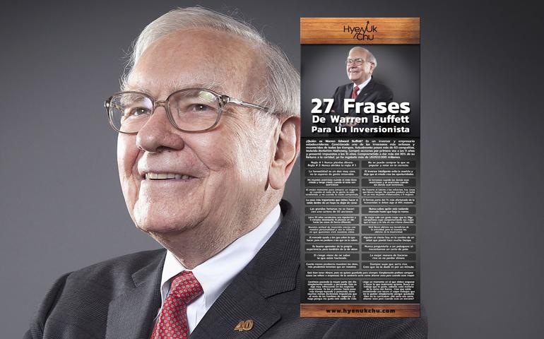 27 Frases De Warren Buffett Para Un Inversionista – Hyenuk Chu