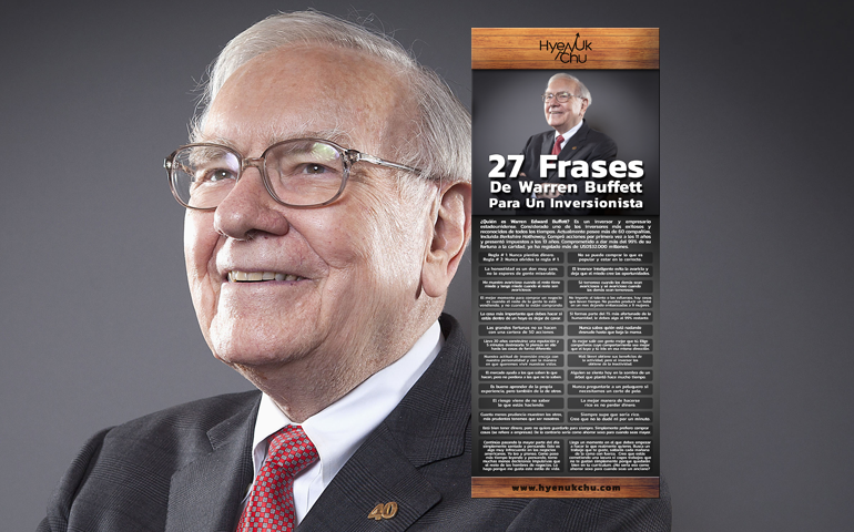 [INFOGRAFÍA] 27 Frases De Warren Buffett Para Un Inversionista – Hyenuk Chu