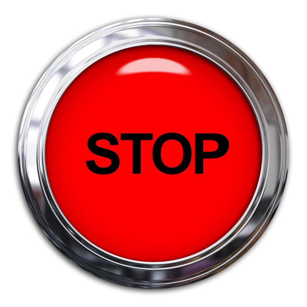 El stop es vital al invertir en un choppy market.