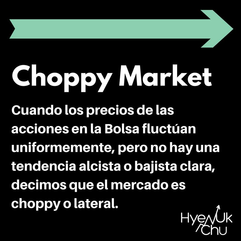 Qué es el choppy market.