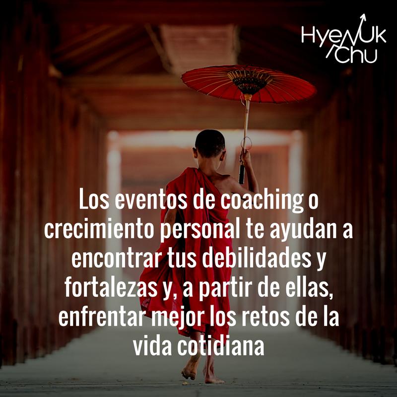 Las ventajas de los eventos de coaching.
