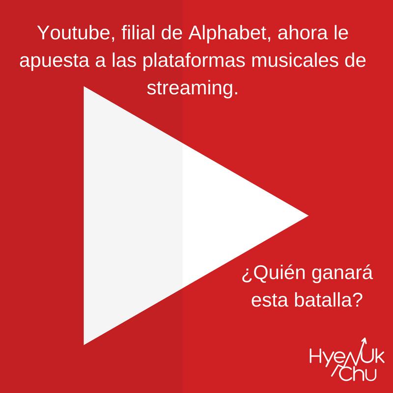 La batalla entre plataformas de streaming la protagoniza Youtube.