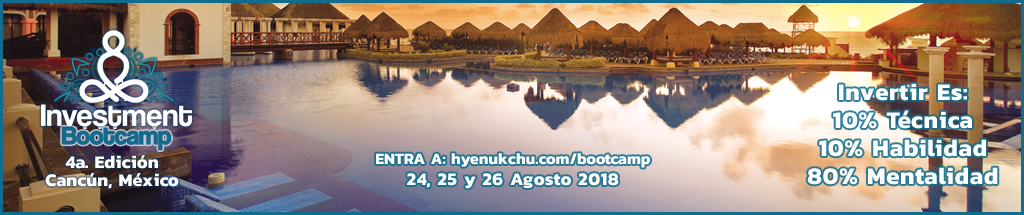 BOOTCAMP INVESTMENT EN CANCUN MEXICO