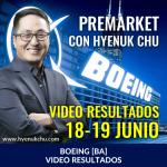 Analisis Premarket Boeing BA con Hyenuk Chu