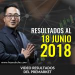 [Video Resultados – 18 Junio 2018] Te Lo Advertí En El PreMarket En Días Anteriores – Hyenuk Chu