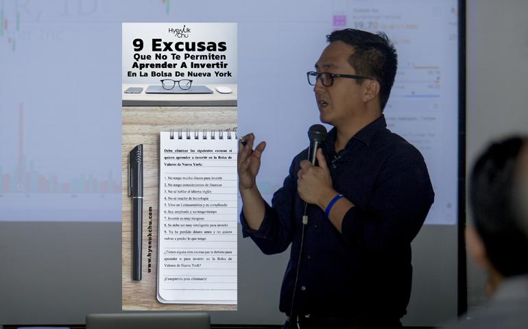 [INFOGRAFÍA] 9 Excusas Que No Te Permiten Aprender A Invertir En La Bolsa De Nueva York – Hyenuk Chu