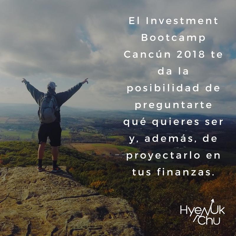 En agosto será el próximo Investment Bootcamp.