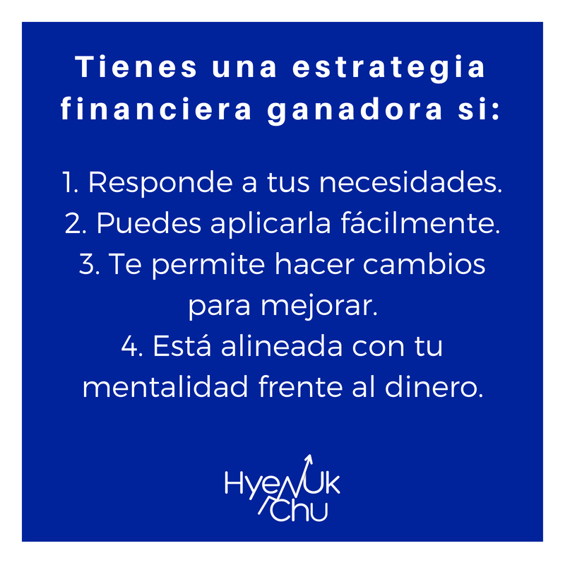 Tips sobre tu estrategia financiera.