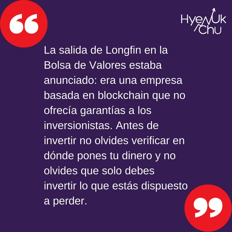 La lección del caso Longfin.